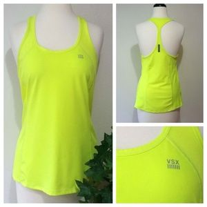 Victoria's Secret Activewear Tank; Neon Yellow; S